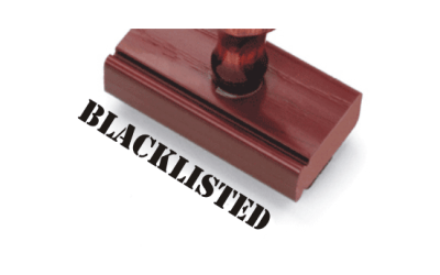 Blacklisting of Contractors by the Government and Public Sector Undertakings
