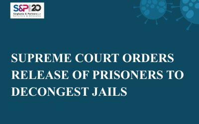 Supreme Court Orders Release of Prisoners to Decongest Jails