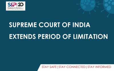 Supreme Court of India Extends Period of Limitation