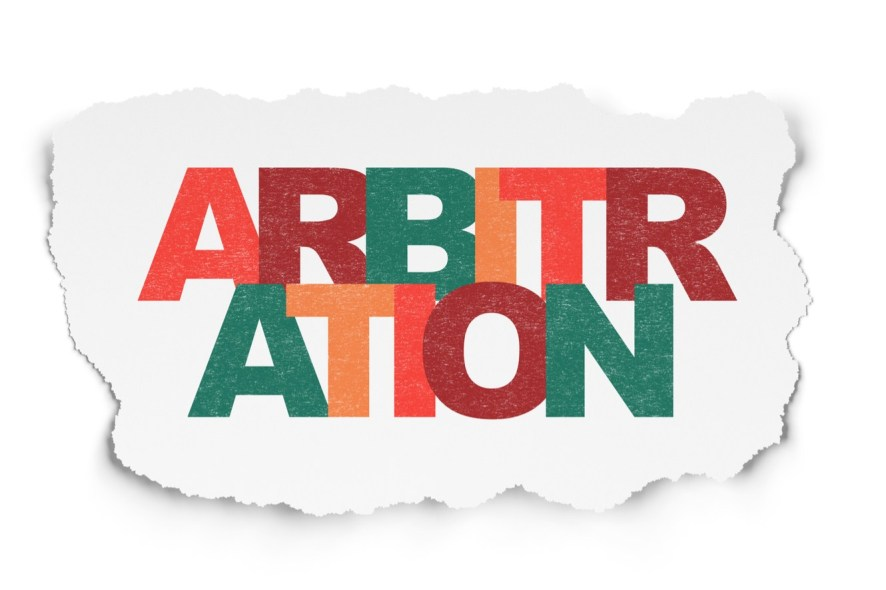 Arbitration Clause in an unstamped contract is valid