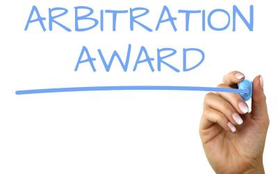 Interim Award on Admitted Liability in Arbitration Proceedings