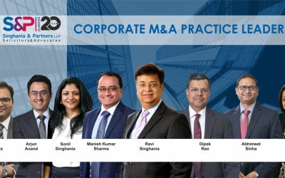 Singhania & Partners, the firm of choice for M&A