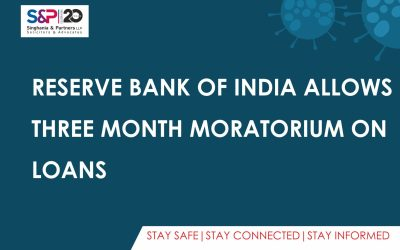 Reserve Bank of India Allows Three Month Moratorium on Loans