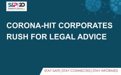Corona-Hit Corporates Rush for Legal Advice